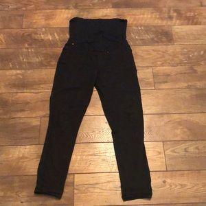 Black Levi's Maternity Skinny Jeans